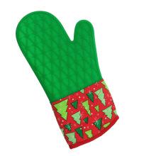 Рождественская силиконовая рукавица