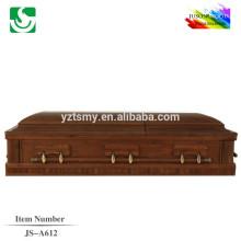 JS-A612 americano caixão estilo Carvalho madeira