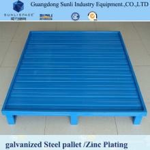 Paleta de acero galvanizado de 130 mm de altura