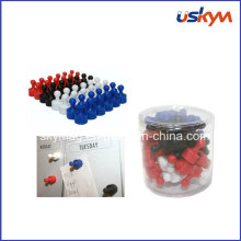 Customized Colourful Magnetic Push Pins, Magnet Hooks