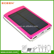 real capacity 10000mah solar power bank portable solar charger for digital devices