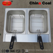 Small Gas Countertop Deep Fat Fryer