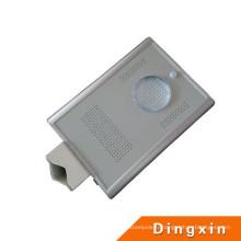 4W LED intégré tout dans un réverbère solaire de capteur