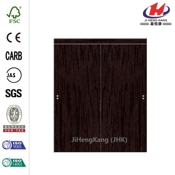 Flush Espresso MDF Interior Closet Sliding Door