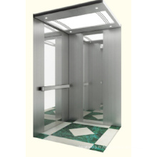 Machine sans salle de maison Ascenseur avec miroir Acier inoxydable