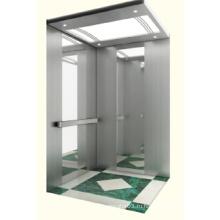 Автономный лифтовый дом с зеркалом из нержавеющей стали
