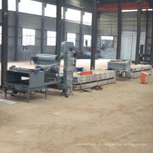 China fornecedores reais de metal telha de aço rollformer rollforming cor de pedra chip revestido telha vitrificada rolo dá forma à máquina