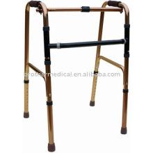 Роллер: взрослый хром Складной ходок, регулируемый 31-38, без колес