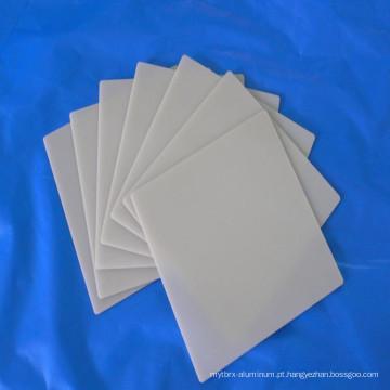 Placa de cerâmica de alta qualidade resistente ao calor de nitreto de alumínio placa de vários tipos opcional