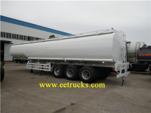 30 ton 45 CBM petrol ulaşım yarı römork