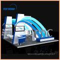 Exhibición de alquiler stand por DeTian Display, expositor de cabina de exposición proporcionar stand de feria, stand de feria