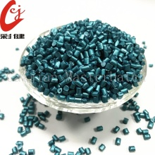 No Spraying Blue Masterbatch Granules