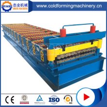 High Speed Colored Steel Roof Panel Roll Forming Machine
