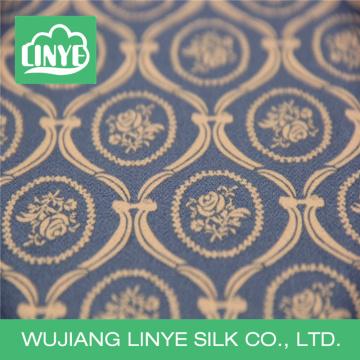 Tecido cego impresso, tecido dobby, tecido de vestuário