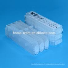 Pour canon pfi107 cartouche d'encre rechargeable avec puce pour canon ipf670 ipf680 ipf685 ipf770 ipf780 ipf785 cartouches d'imprimante