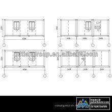 Amerika Containerhaus Projekt