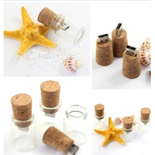 Glass Usb Flash Drive 16 gb Pendrive Wooden Usb