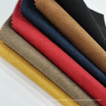 Tissu composite coloré peau de cerf