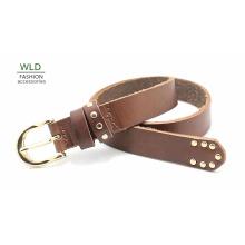 Мода Основные Подлинная верхней кожаный пояс Lky1171