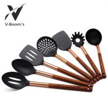 Juego de utensilios de cocina de nylon de 6 piezas