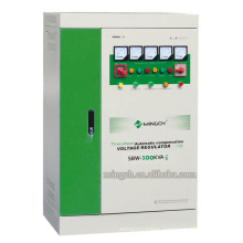 Customed SBW-100k Three Phases Series Compensated Power AC Voltage Regulator/Stabilizer