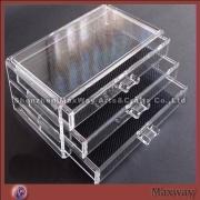 New Cube Acrylic 4 Drawer Jewelry/Cosmetic Organizer Storage
