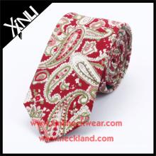 Paisley Design Mens 100% Handmade Silk Custom Printed Dress Ties