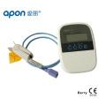 Monitor de oxímetro de visualización de OLED de la pantalla OLD portátil - Oxímetro de pulso aprobado por CE