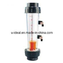 Rotameter Float-Rotameter, medidor de fluxo de tubo de vidro