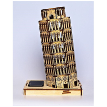 High Quality for Adult Wooden Toys 3D DIY Solar Leaning Towerof Pisa Model Toys supply to Tokelau Manufacturer