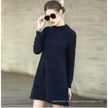 Damenmode Cashmere Sweater Turtle Neck 16brdw002-2