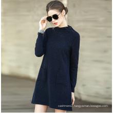 Women′s Fashion Cashmere Sweater Turtle Neck 16brdw002-2