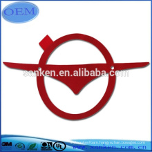 OEM High Die Cutting auto logo printing label for Car Accessory