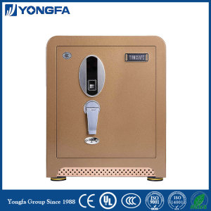 Anti-drilling biometric fingerprint strongbox