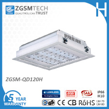 120W LED Gas Station Lightings with 110lm/W