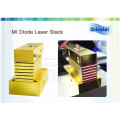 laser hair removal equipment 808nm macro channel laser diode vertical stack