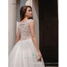 Crystal beaded cinderella bridal dress wedding gowns satin bride dresses white wedding gown