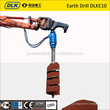 earth drill with gear box new product for 4.5-6 ton