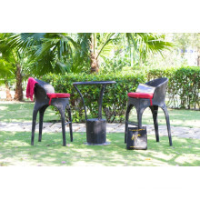 Best selling All weather Wicker PE Rattan Bar Sets Outdoor Garden Furniture