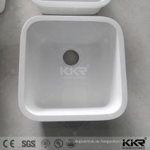 Unterbau weiße Küche Waschbecken, Single-Schüssel Spüle, mexikanische Küche Waschbecken