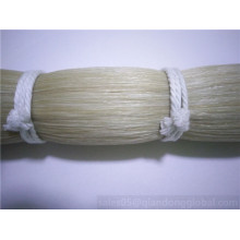 80cm-90cm White Horse Tail Hair For Violin