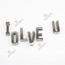 Aleación de decoración 3D letras de diapositivas encantos para regalos pulsera (dsl51031)