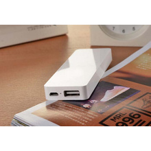 Günstigste weiße 4300mAh Li-Polymer Akku Handy-Ladegerät