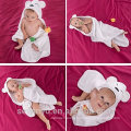 Baby Hooded Towel for Girls & Boys - Antibacterial & Hypoallergenic Bath Towel Set with Hood for Newborns & Toddlers