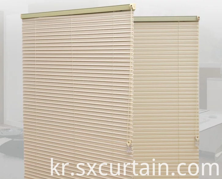 Blade Curtain Blind Aluminum