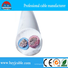2*1.5mm2 2*2.5mm2 High Quality Electric Cable CCA Wire Round Flexible Sheath Cable
