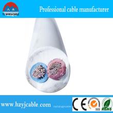 2 * 1.5mm2 2 * 2.5mm2 Высококачественный электрический кабель CCA Круглый гибкий кабель оболочки