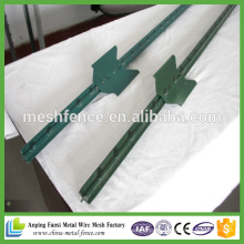 High Quality Wholesale Metal Studded T Post 6FT 1.25lb/FT