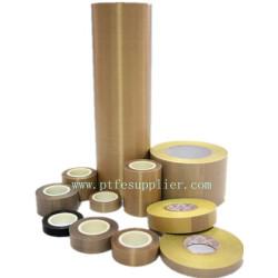 Bande de haute performance enduite de fibre de verre de PTFE