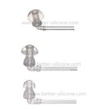 Le caoutchouc de silicone empêchent des bouchons d'oreille de bruit / bouchons d'oreille d'isolation de bruit